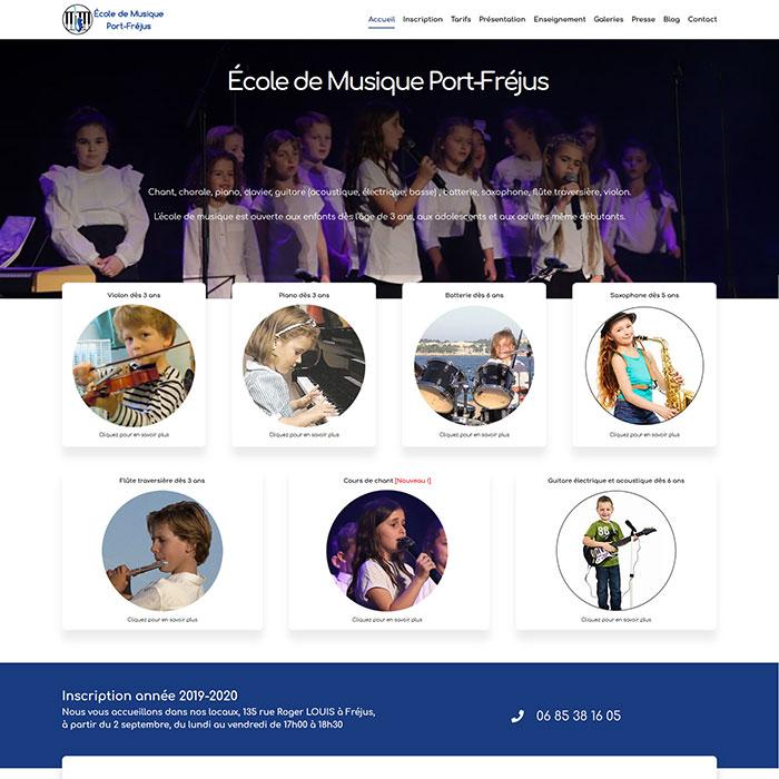 École de Musique Port-Fréjus